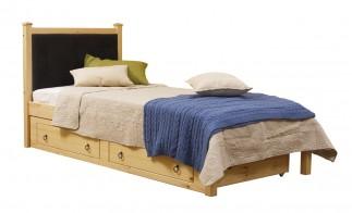 Кровать Дания 1-1 мягкая с ящиками