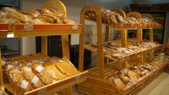 Стеллаж для хлеба и выпечки односторонний.