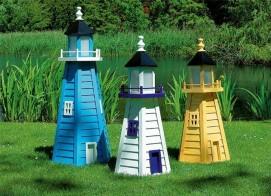 Декоративные маяки для сада.