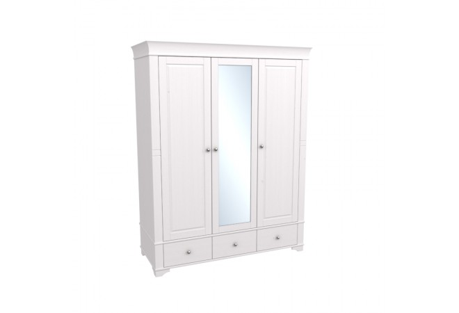 Шкаф трехстворчатый с зеркалом